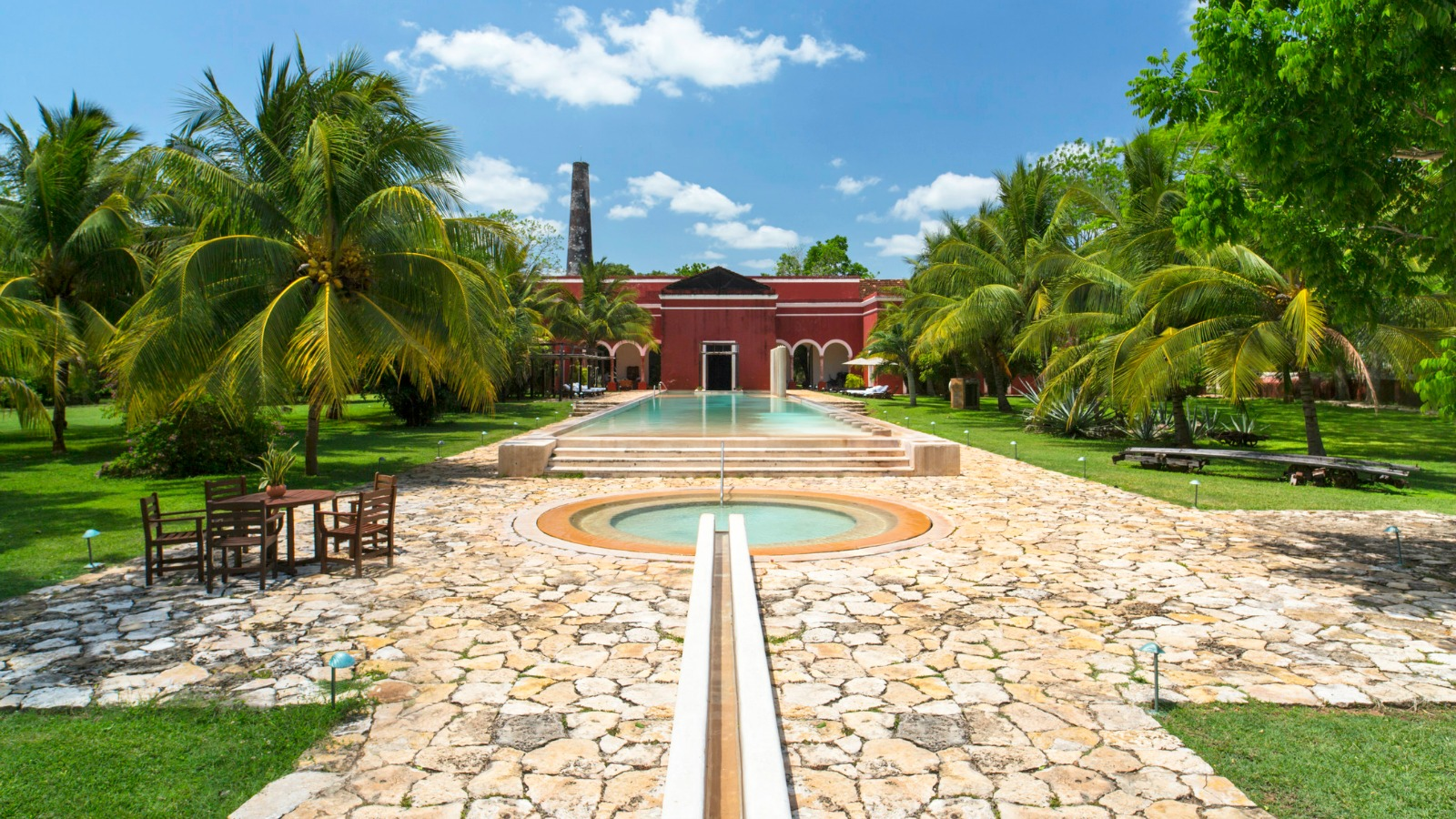 Hacienda Temozon - Main Pool and Jacuzzi
